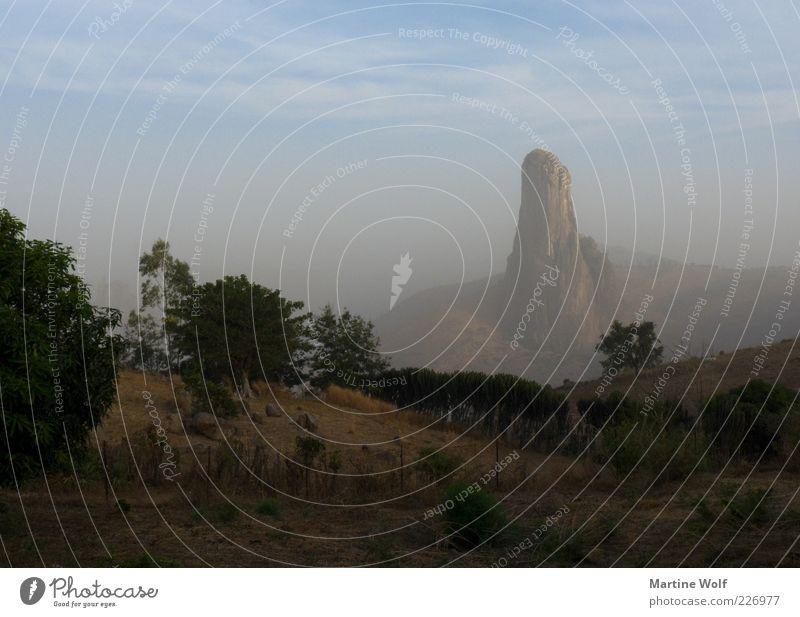Regenberg Ferien & Urlaub & Reisen Ausflug Ferne Expedition Berge u. Gebirge Natur Landschaft Schönes Wetter Nebel Felsen Rhumsiki-Mountains Roumsiki Kamerun