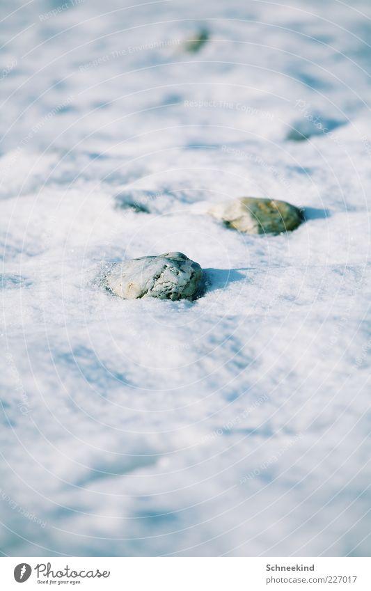 Steiniger Weg Natur weiß Winter kalt Schnee Umwelt hell Eis Felsen Frost