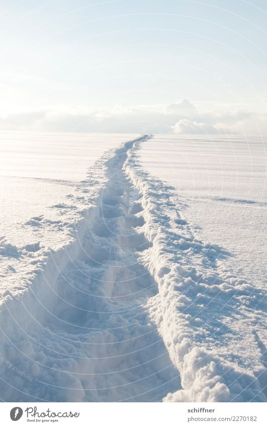 Himmelsweg Natur weiß Wolken Winter Umwelt kalt Wege & Pfade Schnee Zufriedenheit Schneefall Horizont Eis Hoffnung Hügel Ziel