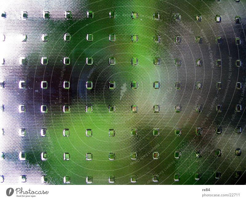 muster der natur Natur grün schwarz kalt Wand Gras Architektur Garten Tür Glas glänzend Design modern Perspektive Muster Quadrat