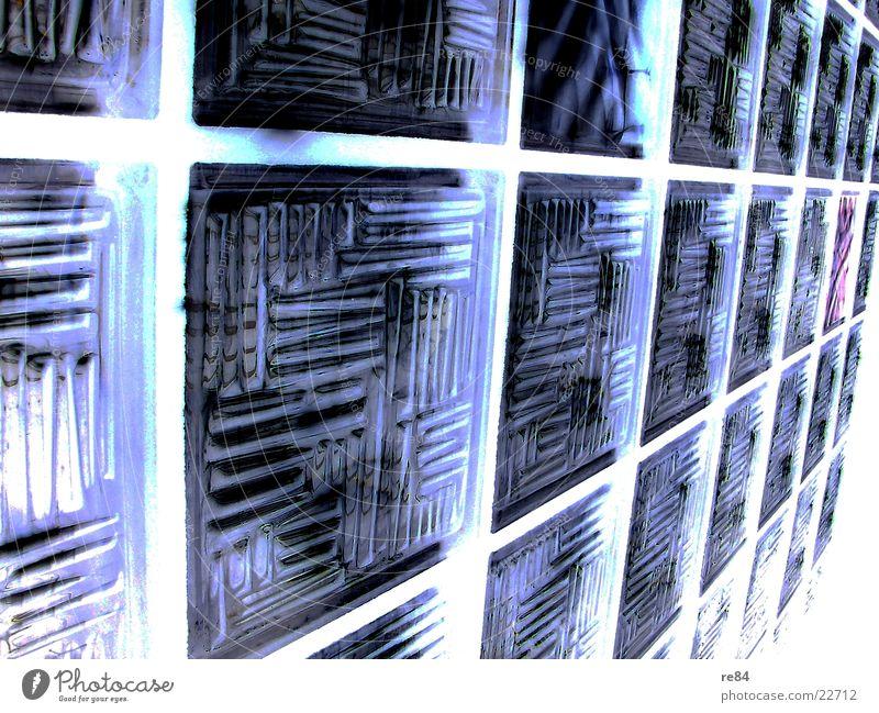 wabenmodell alt weiß blau Wand Fenster Stein Feste & Feiern Architektur Glas violett Kasten Jahr Rahmen Präzision negativ entgegengesetzt