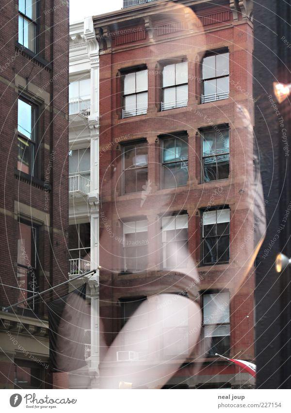 SoHo Shopping 1 schön Stadt feminin Fenster Stil Körper elegant Fassade Mode Hochhaus ästhetisch Lifestyle Backstein Unterwäsche Scheibe New York City