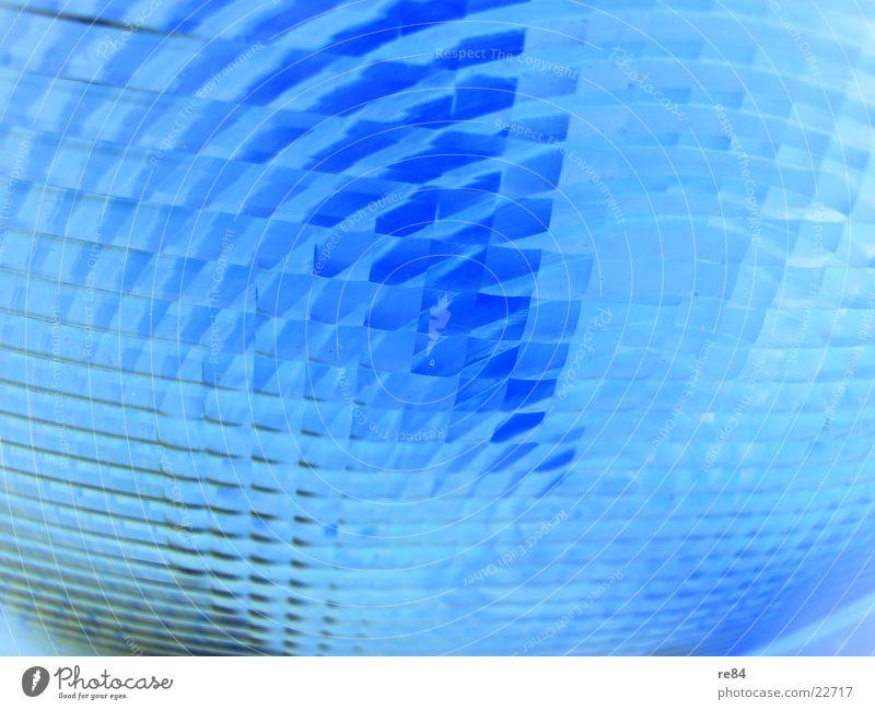 blue vision blau Lampe hell glänzend klein Industrie Baustelle Spiegel Teile u. Stücke Handwerk fein Bienenwaben