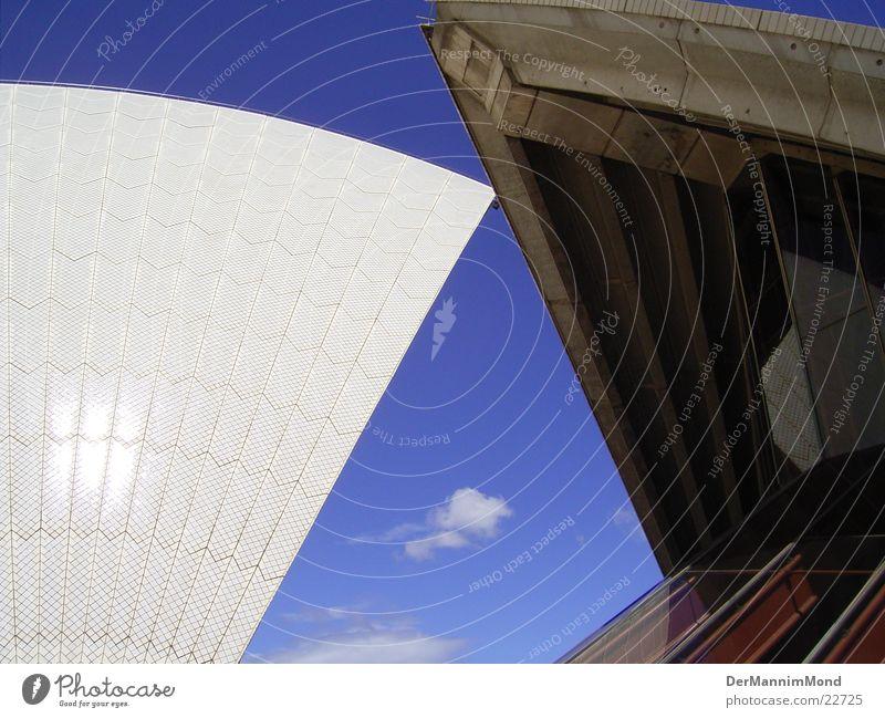 Unter dem schönsten Dach Architektur Dach Oper Sydney Australien