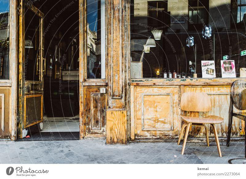 Handwerk | Friseursalon Stil Wohlgefühl ruhig Freizeit & Hobby Städtereise Stuhl Arbeit & Erwerbstätigkeit Handwerker London England Stadtzentrum Altstadt