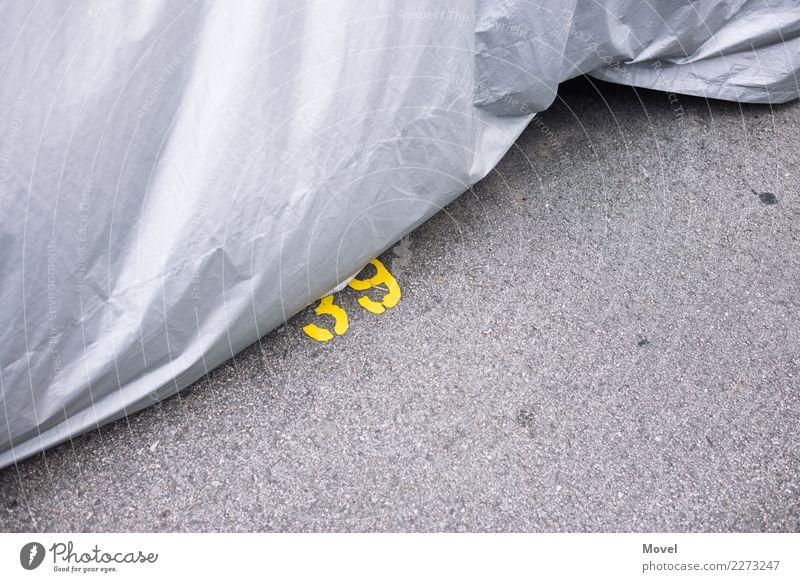 Yellow Thirty Nine Singapore Asien Parkhaus Straße Fahrzeug PKW Beton Zeichen Schriftzeichen Ziffern & Zahlen Schilder & Markierungen gelb grau silber Schutz