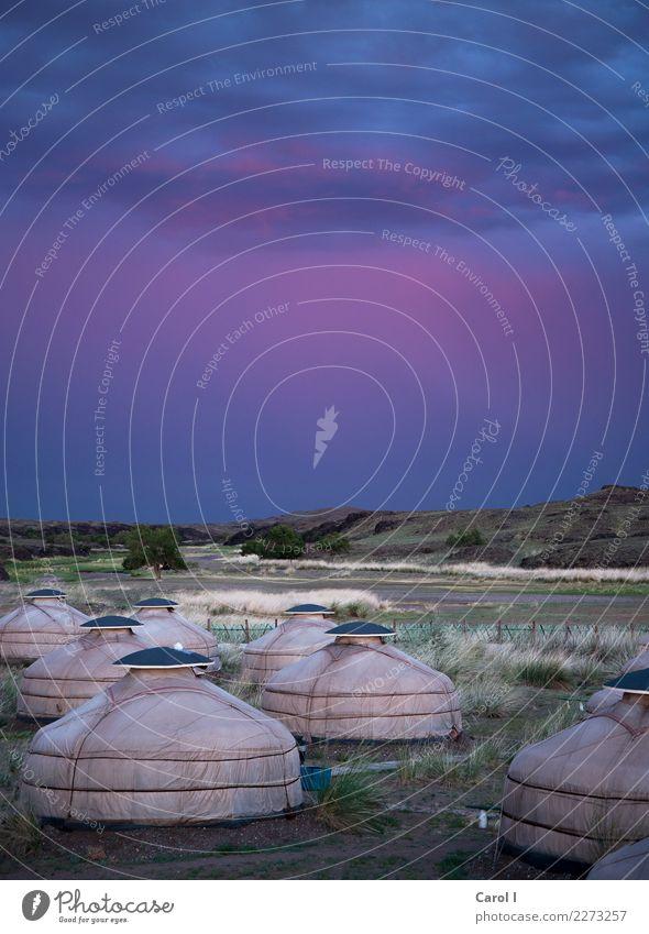 Stunning Mongolia Lifestyle Ferien & Urlaub & Reisen Tourismus Ausflug Abenteuer Ferne Freiheit Camping Sommer Natur Landschaft Erde Himmel Wolken
