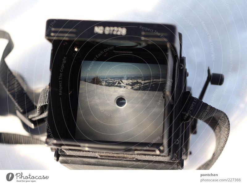 Digital-analog Natur alt Ferien & Urlaub & Reisen Winter schwarz kalt Schnee Berge u. Gebirge Landschaft Freizeit & Hobby Fotografie Ausflug Tourismus