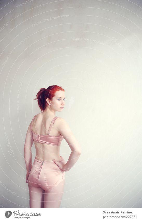 400. elegant Stil Design exotisch feminin Junge Frau Jugendliche Körper Rücken Gesäß Beine 1 Mensch 18-30 Jahre Erwachsene Unterwäsche Haare & Frisuren