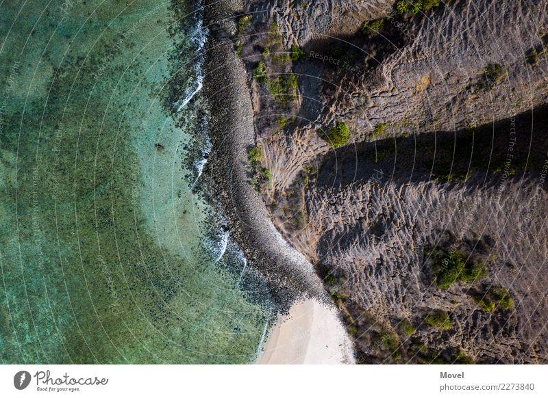 Lombok Ferien & Urlaub & Reisen Abenteuer Strand Berge u. Gebirge Erde Luft Wasser Klimawandel Schlucht Wellen Küste Insel Schwimmen & Baden fliegen wandern