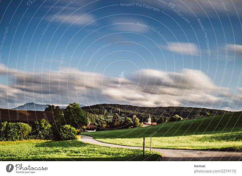 Habach, Bayern harmonisch Wohlgefühl Zufriedenheit Sinnesorgane Erholung ruhig Ferien & Urlaub & Reisen Ausflug Freiheit Sommer Sommerurlaub wandern Natur