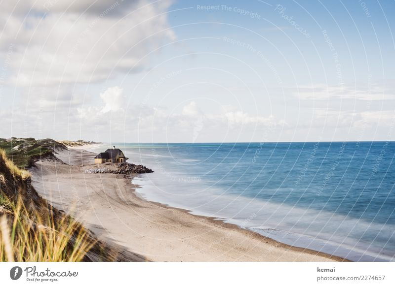 In dem Haus am Meer harmonisch Sinnesorgane Erholung ruhig Freizeit & Hobby Ferien & Urlaub & Reisen Tourismus Ausflug Abenteuer Ferne Freiheit Sommer
