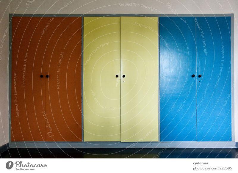 Eins, Zwei oder Drei Farbe Leben Freiheit Stil träumen Raum Design ästhetisch Innenarchitektur planen Lifestyle Häusliches Leben einzigartig Neugier