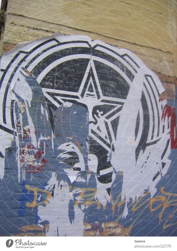 OBEY GIANT Straßenkunst Artist Elektrisches Gerät Technik & Technologie Obey propaganda scratch
