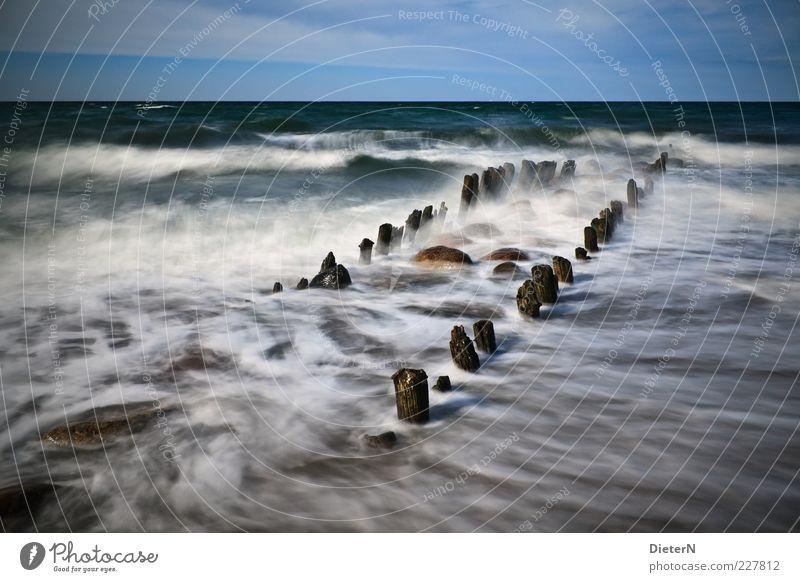 Rauschen Himmel Natur Wasser Sommer Strand Wolken Umwelt Landschaft Küste Wind Kraft Klima Sturm Unwetter Ostsee Brandung