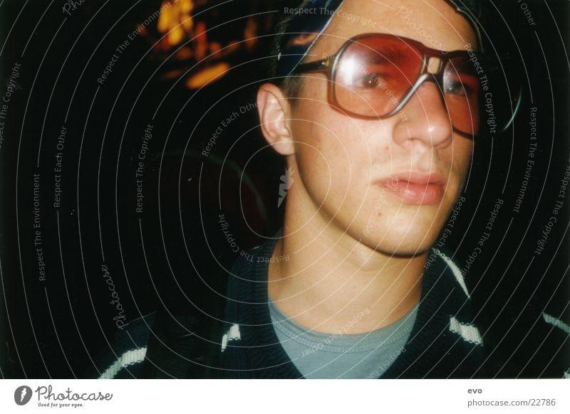 Durchblick ´78 Brille Brillenschlange Mann Hornbrille Feste & Feiern Horny