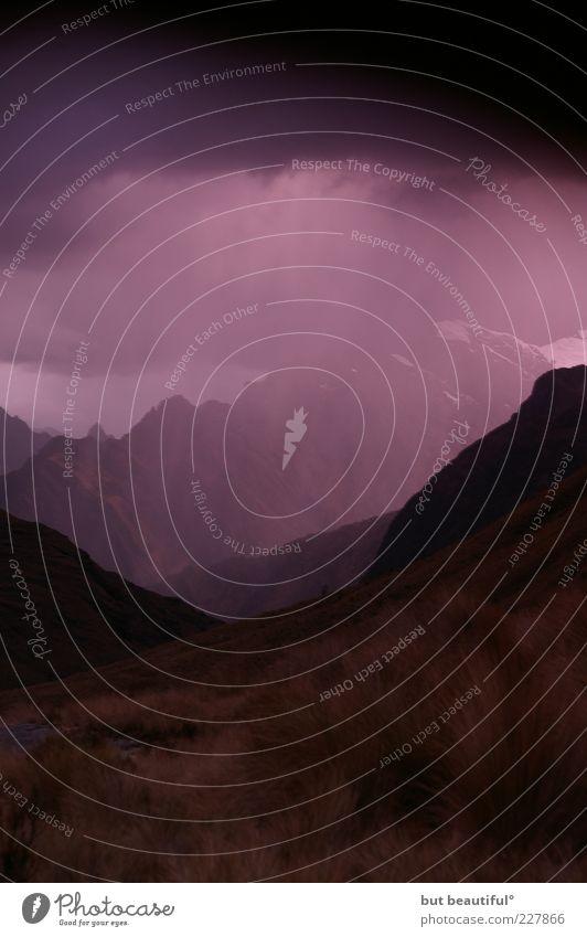 Natur schön Wolken Einsamkeit Schnee Herbst Berge u. Gebirge Regen Landschaft Wind Umwelt Felsen Klima einzigartig Sturm Gelassenheit