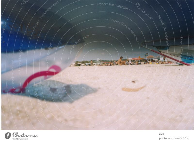 Luma Beach Meer Strand Sand Europa Sandstrand Luftmatratze