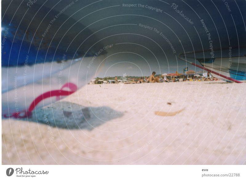 Luma Beach Strand Luftmatratze Sandstrand Meer Europa Tag am Meer