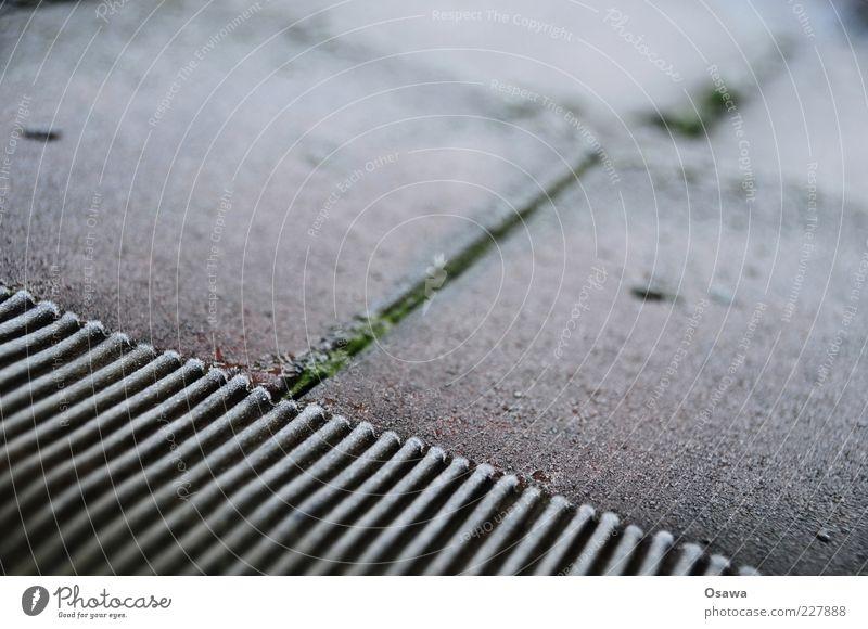 Rauhreif Winter kalt Stein Eis diagonal Fuge Textfreiraum Blech Raureif Dachziegel Querformat