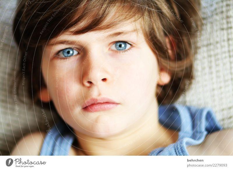wachsen und gedeihen | *100* mal lasse Kind Mensch schön Gesicht Auge Familie & Verwandtschaft Junge Haare & Frisuren Kopf träumen Körper Kindheit nachdenklich