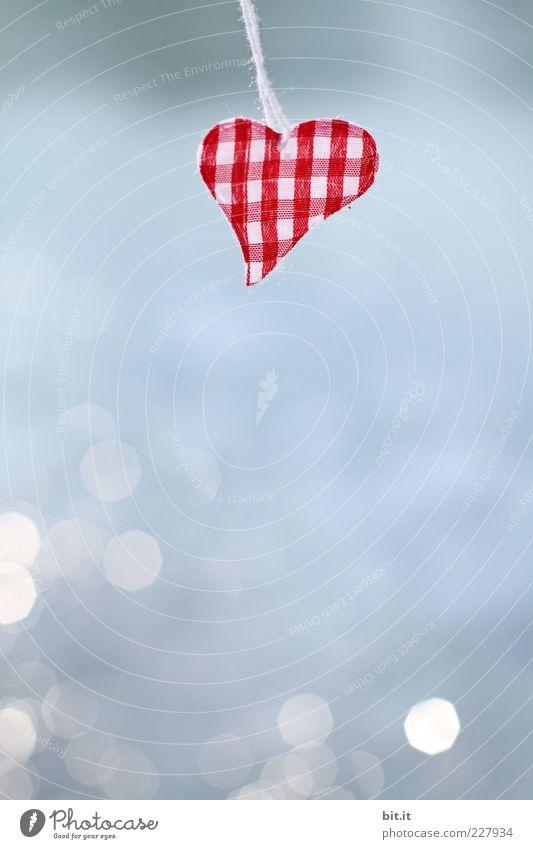 Happy Valentin Ferien & Urlaub & Reisen rot Freude Liebe Gesundheit Feste & Feiern Freundschaft glänzend Dekoration & Verzierung Schilder & Markierungen Geburtstag Herz Romantik Schnur Hochzeit Kitsch