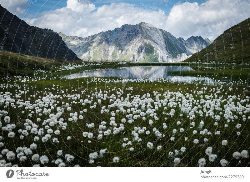 Traumschön Glück harmonisch Wohlgefühl ruhig Meditation Ferien & Urlaub & Reisen Berge u. Gebirge wandern Klettern Bergsteigen Natur Landschaft Sommer Alpen See