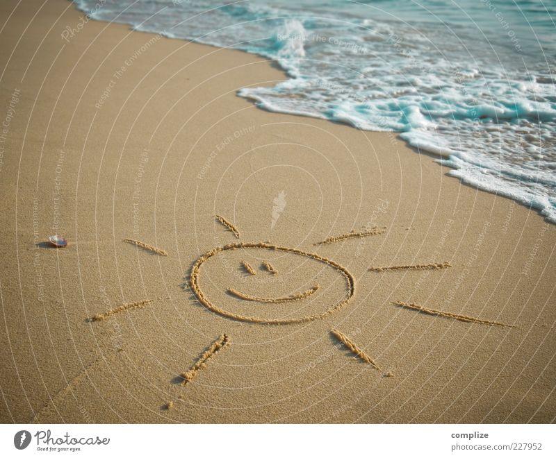 Strand & Sonne Ferien & Urlaub & Reisen Sommer Erholung Meer Wärme Küste lachen Freiheit Sand Tourismus Wellen Fröhlichkeit Lächeln Schönes Wetter