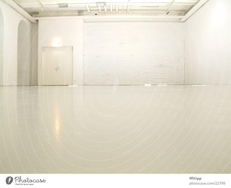 raumweiß hell Raum Architektur Bodenbelag