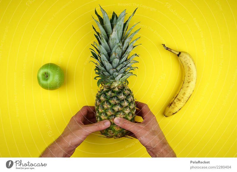 #AS# Ordnungs-Mensch Lebensmittel Frucht Ernährung Essen Frühstück Mittagessen ästhetisch Banane Apfel Ananas Gesundheit Gesunde Ernährung Gesundheitsmanagement
