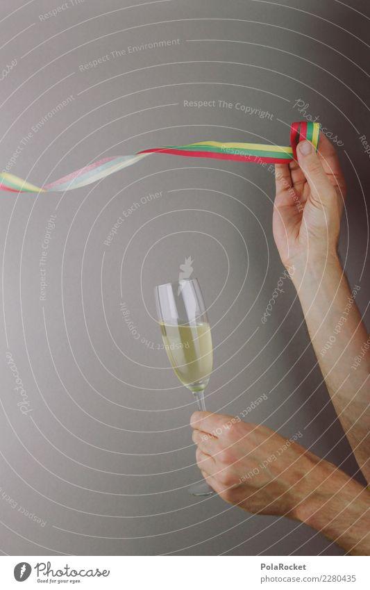 #AS# PartyStimmung Kunst ästhetisch Partygast Partystimmung Partyservice Partynacht Sekt Sektglas Sektperlen Luftschlangen Alkohol Farbfoto Gedeckte Farben