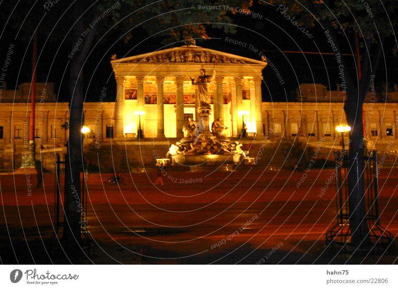 Wiener Parlament Gebäude Architektur