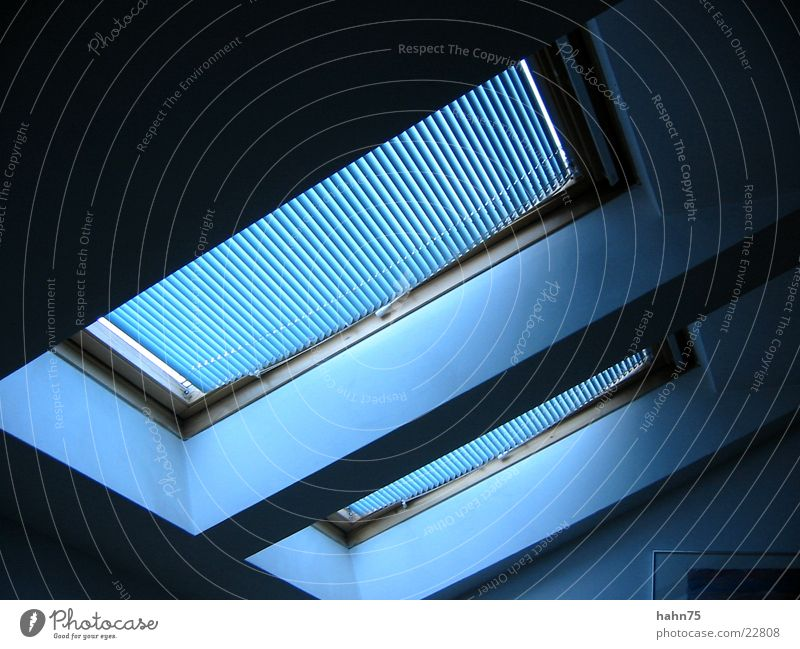 Morgenstimmung aufwachen Stimmung Jalousie Fenster Fototechnik Morgendämmerung