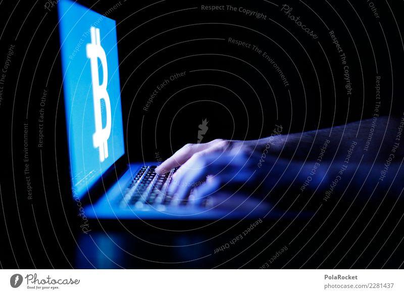 #AS# Bitcoin-Junkie Kunst ästhetisch Crypto Cryptowährung Computer digital Internet Geld Handel Spekulation Notebook Tastatur Tippen Hacker ungesetzlich Website