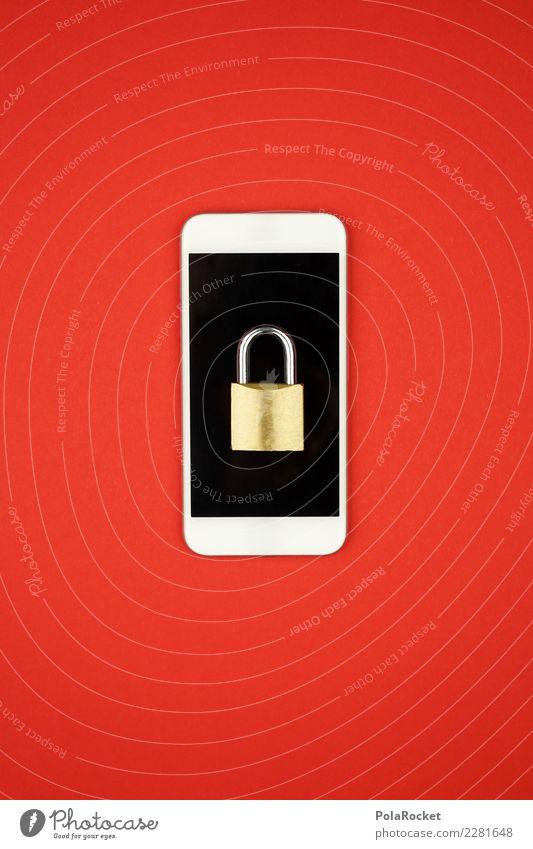 #AS# mobiler Datenschutz Kunst Kunstwerk ästhetisch Handy Mobilität Mobilfunk Sicherheit Sicherheitsdienst Sicherheitskontrolle rot bedrohlich spionieren