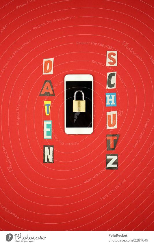 #AS# Datenschutz Handy Verantwortung Termin & Datum rot Schloss Informationstechnologie Sicherheit Sicherheitskontrolle cookie Firewall Internet spionieren