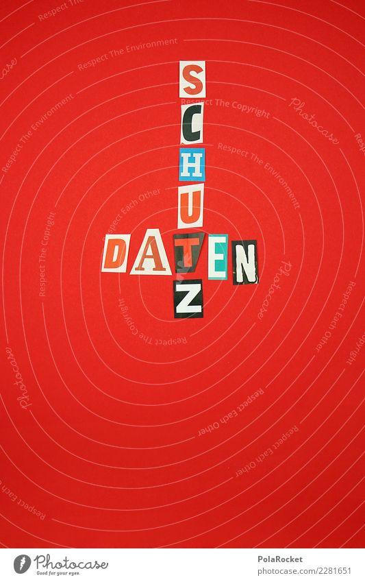 #AS# Datenschutz wird groß geschrieben Kunst ästhetisch Termin & Datum Datenträger Datenbank Datenübertragung Datenverlust Gesetze und Verordnungen rot