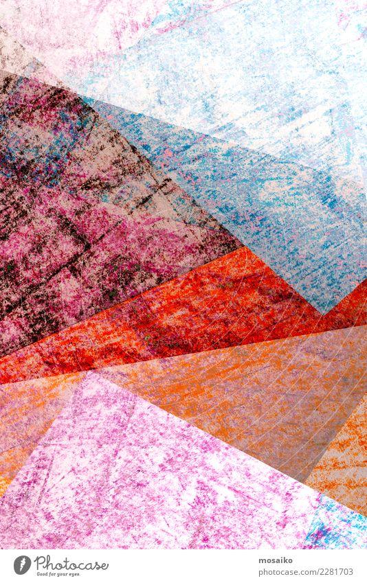 Collage - Graphik Design Lifestyle elegant Stil Freude Basteln Kindererziehung Bildung Büroarbeit Kunst Papier Zettel Inspiration Stimmung Symmetrie