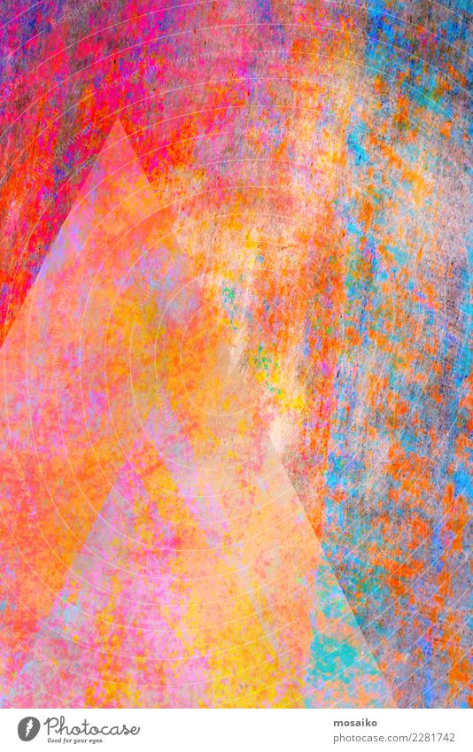 farbenfrohe Grafische Formen Lifestyle elegant Stil Design Feste & Feiern Valentinstag Muttertag Karneval Jahrmarkt Kunst Zufriedenheit Idee Inspiration