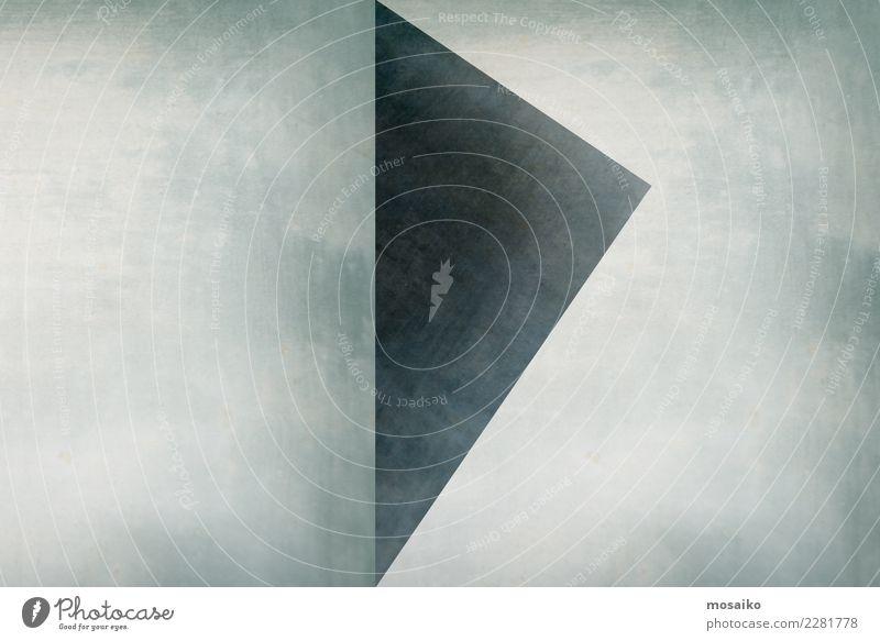 Dreieck elegant Stil Design Bildung Wissenschaften Kunst Zeichen Linie Pfeil ästhetisch einfach trendy retro Kraft Toleranz beweglich Gerechtigkeit