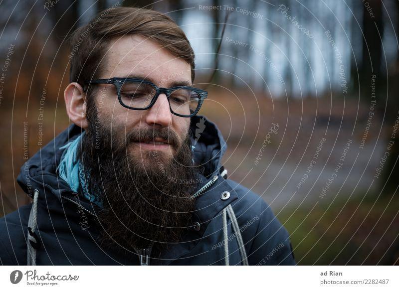 Goldenberg III Körper Haare & Frisuren Gesicht wandern Mensch maskulin Mann Erwachsene Kopf 1 30-45 Jahre Umwelt Natur Landschaft Pflanze Tier Winter