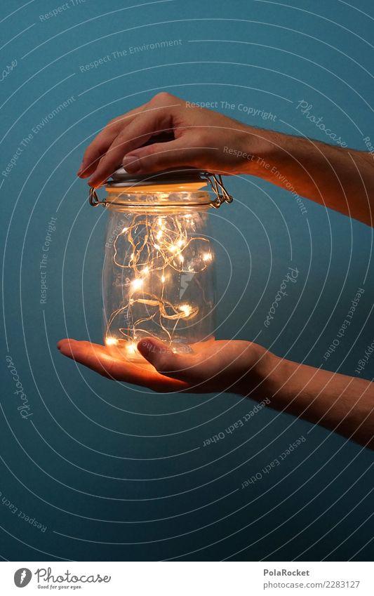#AS# magic Kunst ästhetisch Zauberei u. Magie bezaubernd Glas Glasbehälter Licht Lichterscheinung Lichtschein Lichtspiel Lichterkette lichtvoll Lichtblick