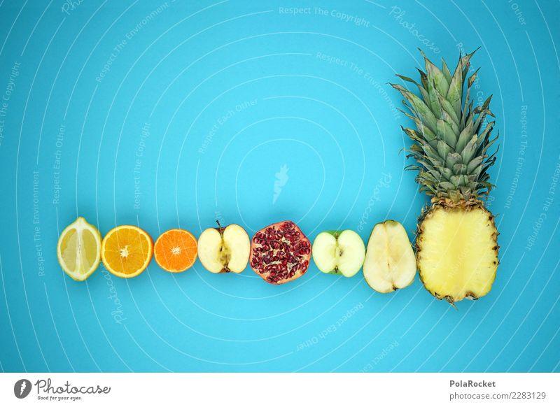#AS# süß küsst sauer II kaufen Fitness Sport-Training Essen Gesunde Ernährung blau Zitrone Orange Mandarine Apfel Granatapfel Birne Ananas Bioprodukte
