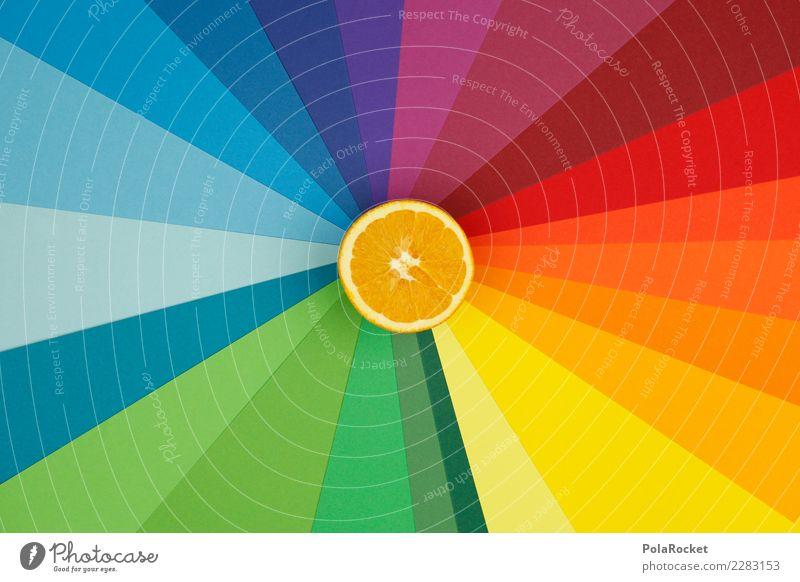 #AS# farbige Orange blau grün rot Essen Wärme gelb kalt orange Frucht Kreativität süß Fitness violett Sport-Training Diät