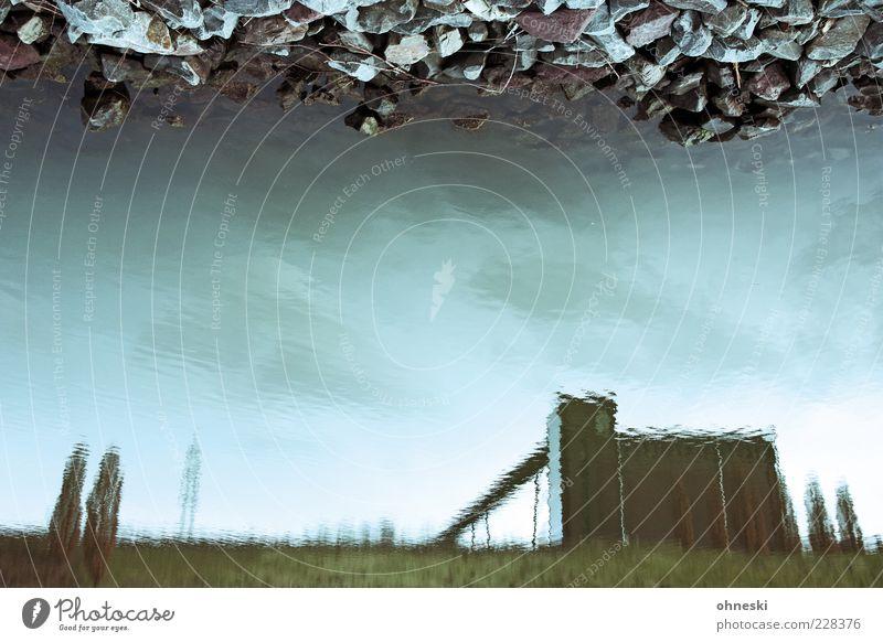 Kohlenwäsche [BO III] Himmel Wasser Stein Gebäude Wandel & Veränderung außergewöhnlich Symbole & Metaphern Umweltverschmutzung Industrieanlage Endzeitstimmung