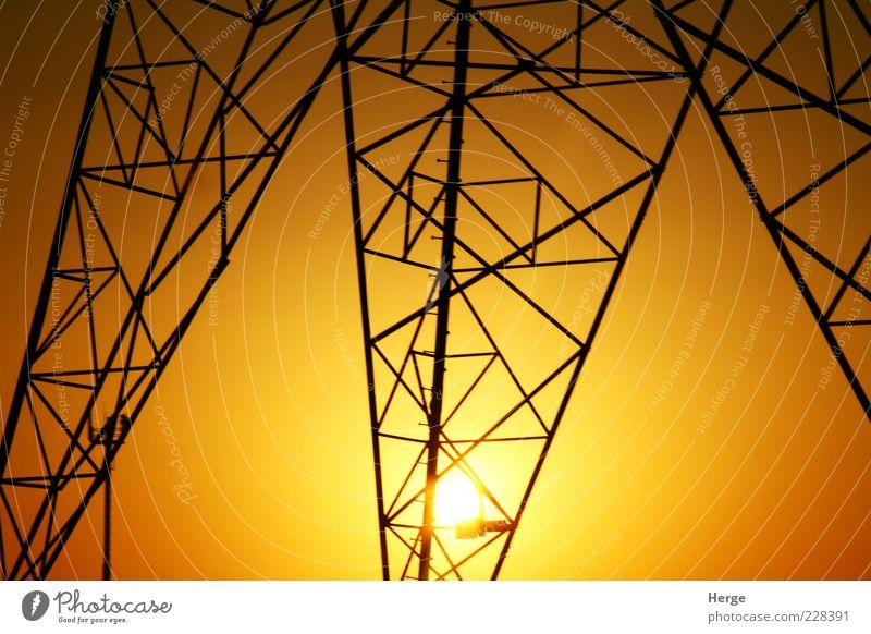 Sonne gelb Umwelt gold Energiewirtschaft Technik & Technologie