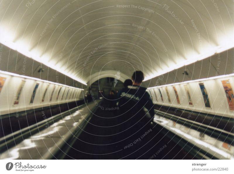 Prager Underground London Underground Licht Verkehr U-Bahn ptunnel
