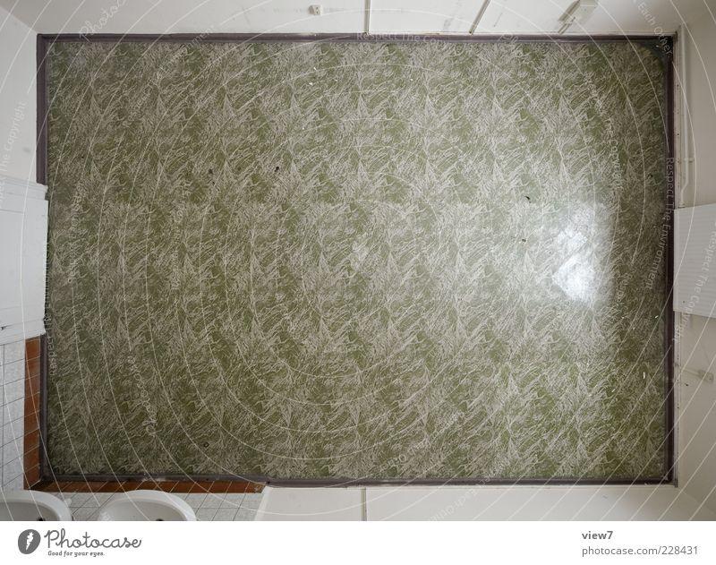 green pattern :: Mauer Wand Fenster Tür Stein Ornament Linie Streifen alt einfach frisch einzigartig modern oben retro schön grün Einsamkeit ästhetisch Design