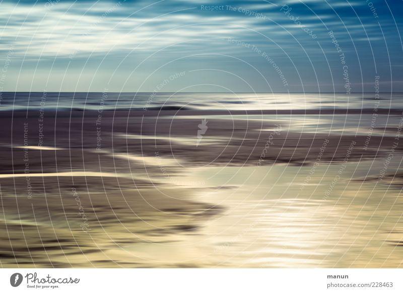 Watt'n Blick Natur Wasser schön Ferien & Urlaub & Reisen Meer Strand Ferne Landschaft Sand Küste träumen Stimmung natürlich authentisch außergewöhnlich Urelemente