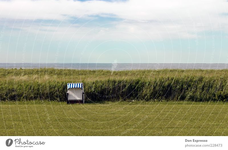 Windgeschützt Himmel Natur Wasser Sommer Meer Strand Ferne Erholung Wiese Umwelt Landschaft Gras Küste Frühling Zufriedenheit Feld